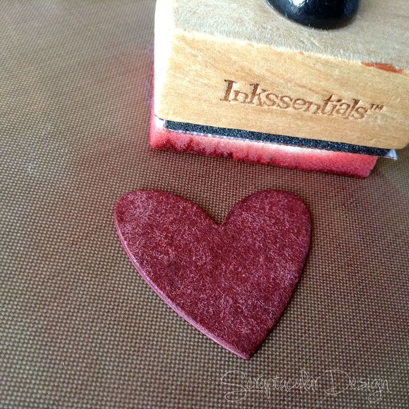 Distress Glitter, how to, 2