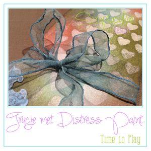Trucje met Distress Paint