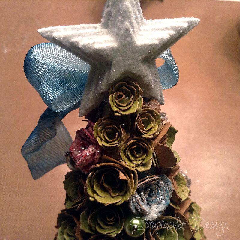 Online Workshop Christmas Ornaments, Sweet Treestap 33