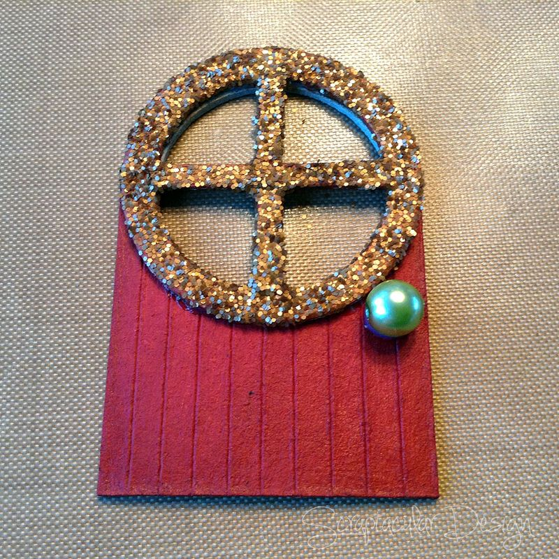 Online Workshop Christmas Ornament, Home for X-Masstap 31