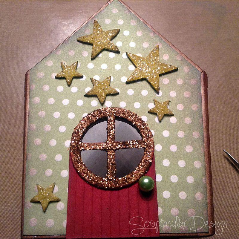 Online Workshop Christmas Ornament, Home for X-Masstap 50