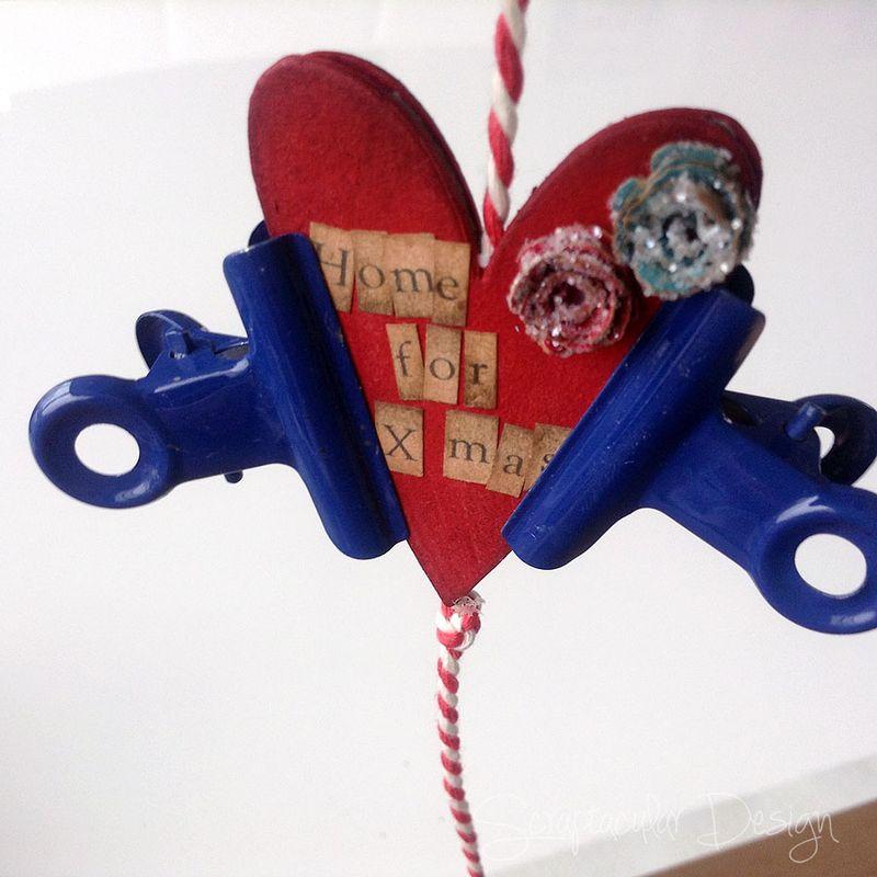 Online Workshop Christmas Ornament, Home for X-Masstap 86
