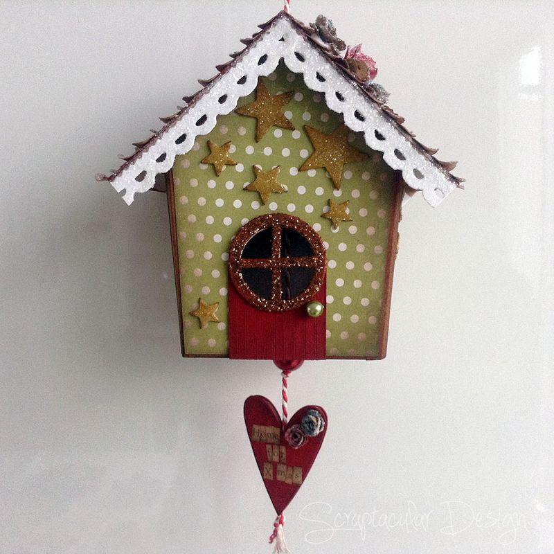 Online Workshop Christmas Ornament, Home for X-Masstap 88