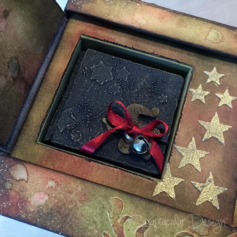 Scraptacular Design Tiny Project Starsmini in box