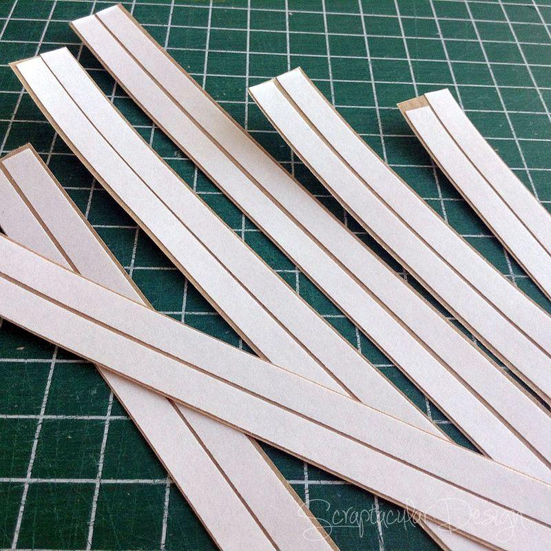 Strips van Kraftpapier maken,  stap_3