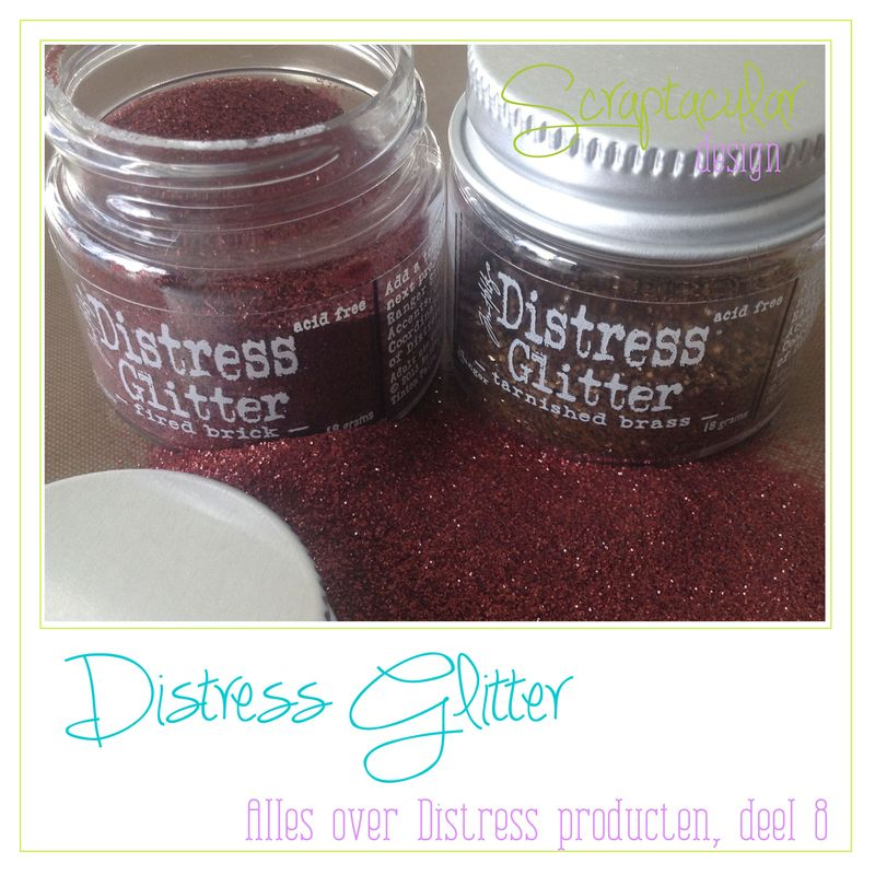 Frame Distress Glitter