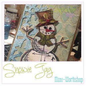 Snowietag modeling paste
