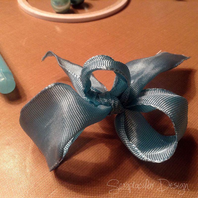 Online Workshop Christmas Ornaments, Sneeuwman balstap 76