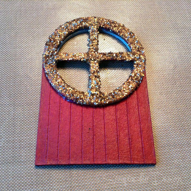 Online Workshop Christmas Ornament, Home for X-Masstap 30