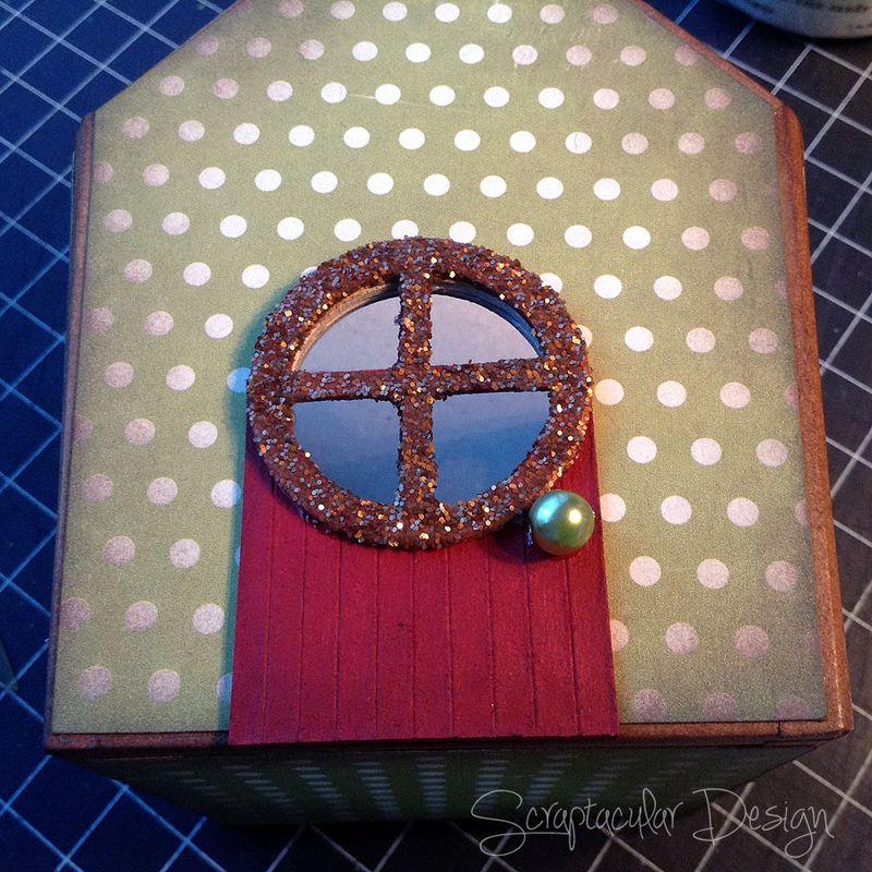 Online Workshop Christmas Ornament, Home for X-Masstap 35