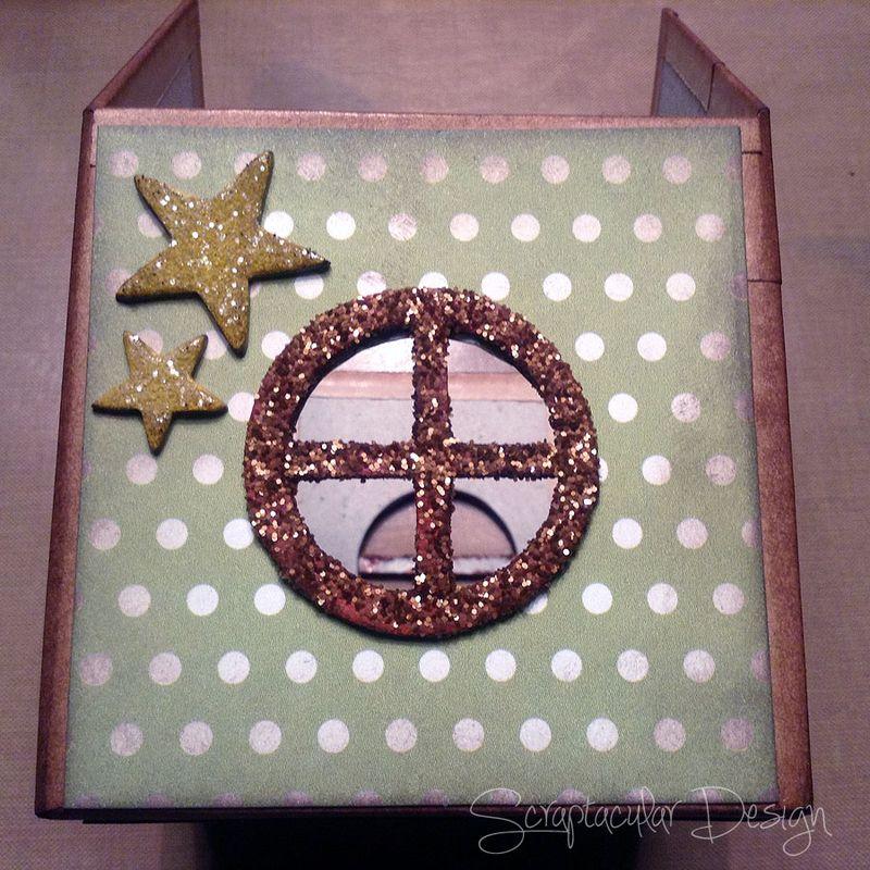 Online Workshop Christmas Ornament, Home for X-Masstap 51