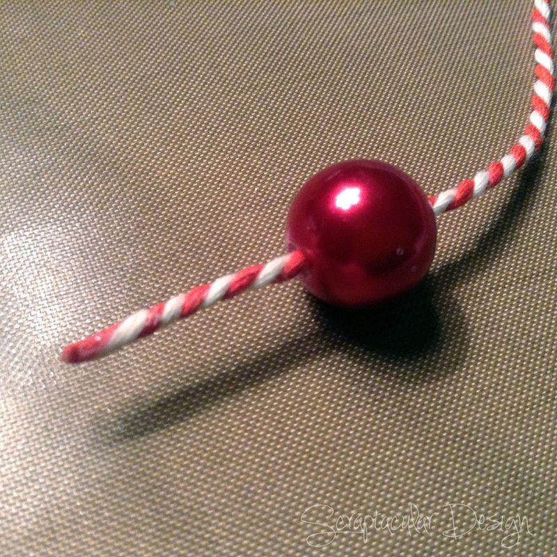 Online Workshop Christmas Ornament, Home for X-Masstap 71