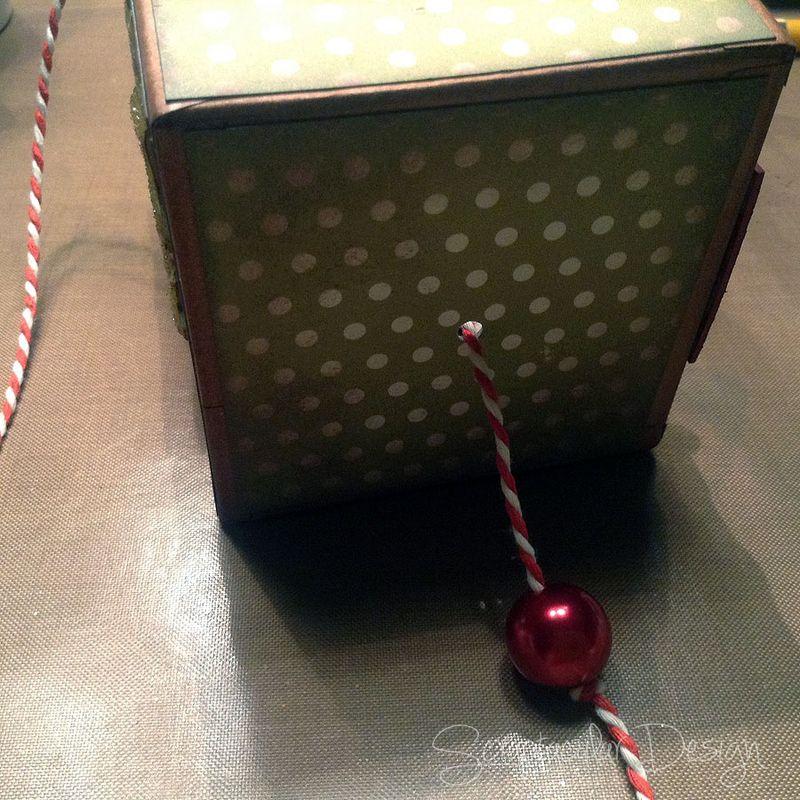 Online Workshop Christmas Ornament, Home for X-Masstap 73