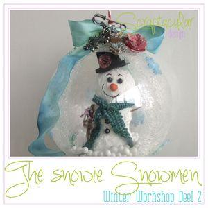Winter Workshop Snowie the Snowmen