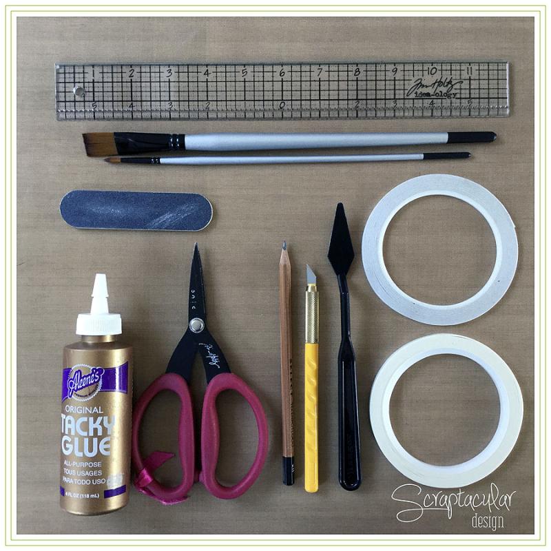 Scraptacular Design Tiny Project Stars2. gereedschappen