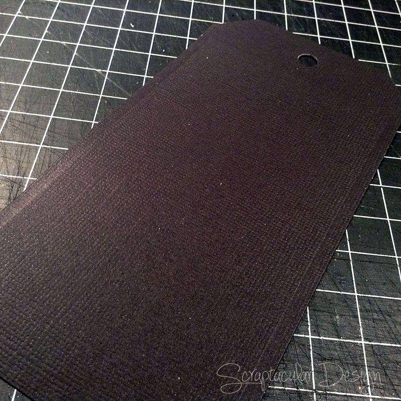 8. Stempelpapier, cardstock donker