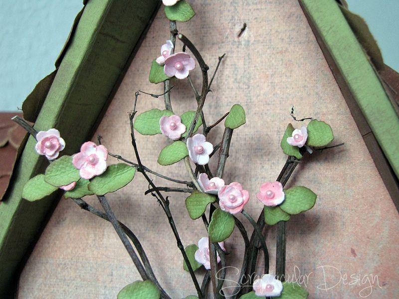 Zelf bloemen maken- Ini-Mini Bloemetjes Stap 8