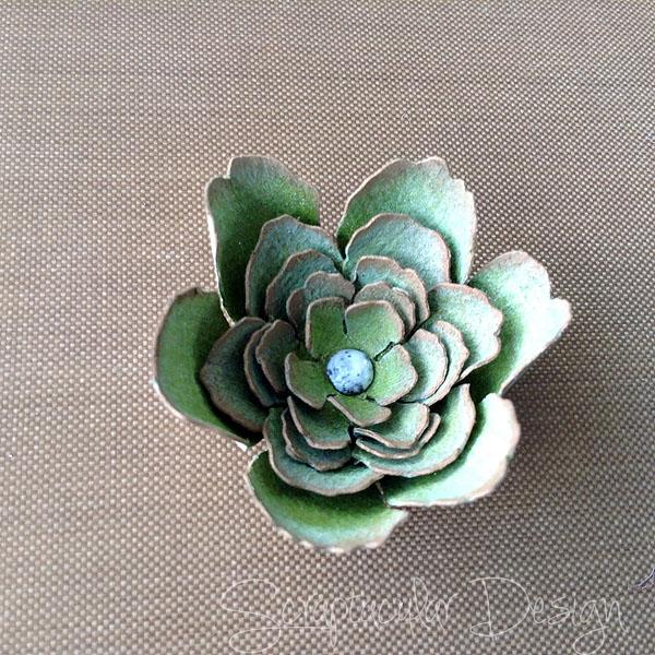 Tutorial Garland Flowers, stap 22