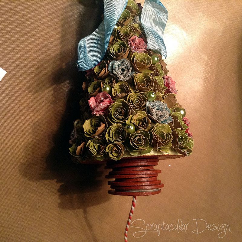 Online Workshop Christmas Ornaments, Sweet Treestap 42