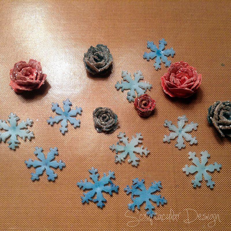 Online Workshop Christmas Ornaments, Sneeuwman balstap 84