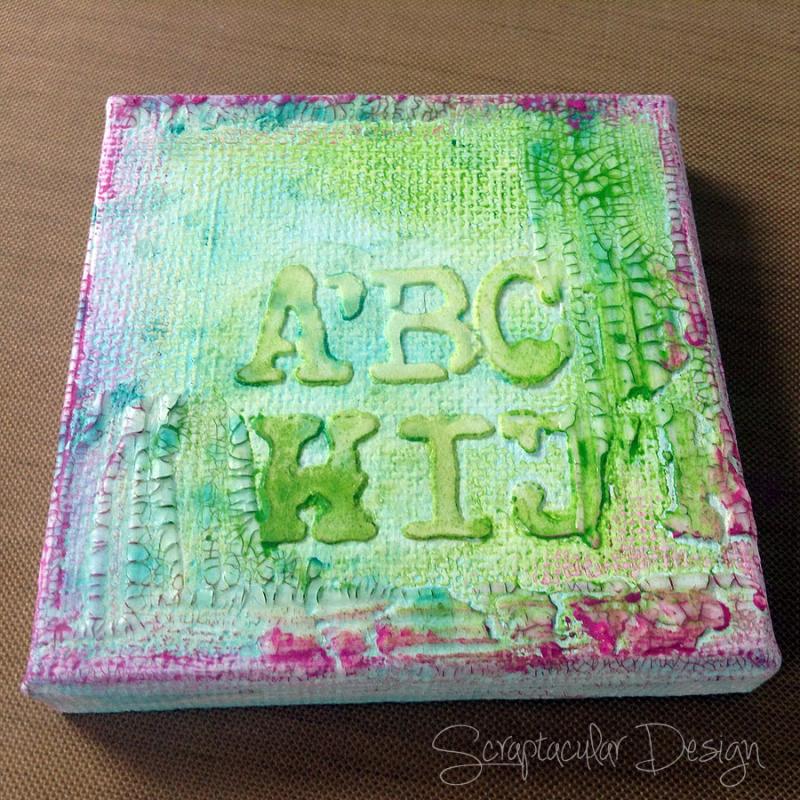 Mini Workshop Mixed media Minibook stap 29